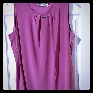 Notations Tops - Rose Mauve  blouse